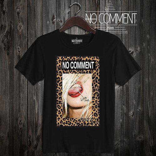 t shirt leopard tongue ref: LTN207