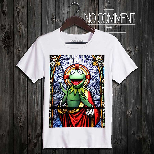 T Shirt kermit church CART13
