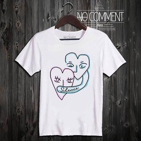 t shirt silence design ref: NCP320