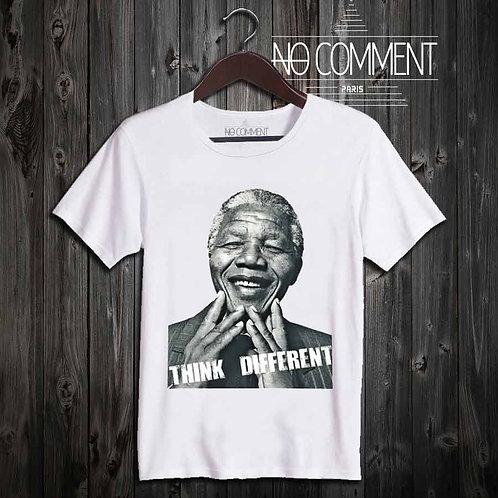 T Shirt imprimé Nelson MANDELA réf: LEG12