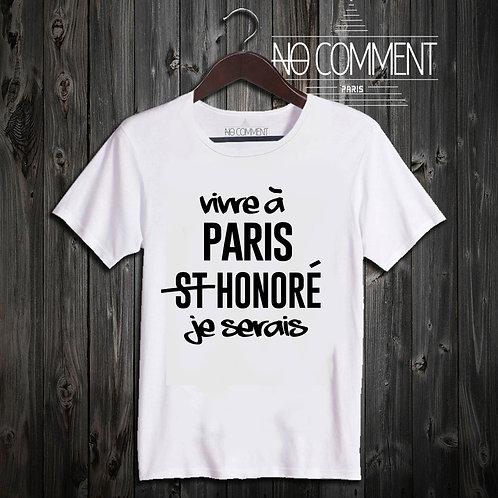 t shirt Paris honoré ref: NCP46