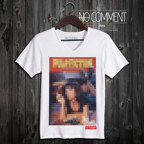 T-shirt Geek, Pulp fiction LEGO réf: BRICK20