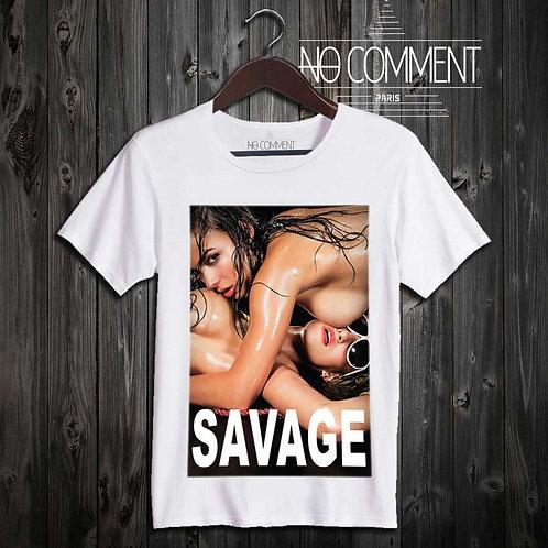 tee shirt savage réf: SG06