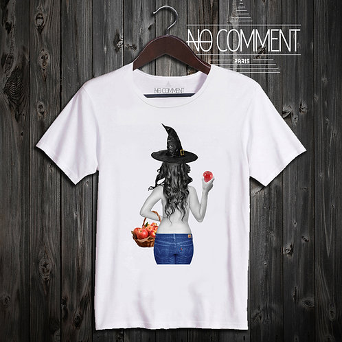 t shirt witch apple ref: NCLTN147