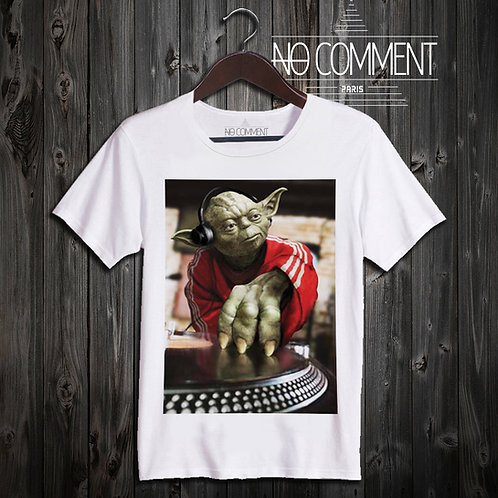 t shirt yoda DJ ref: STARW17