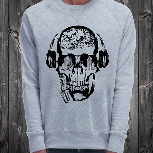 Sweat Shirt skull réf: SW04