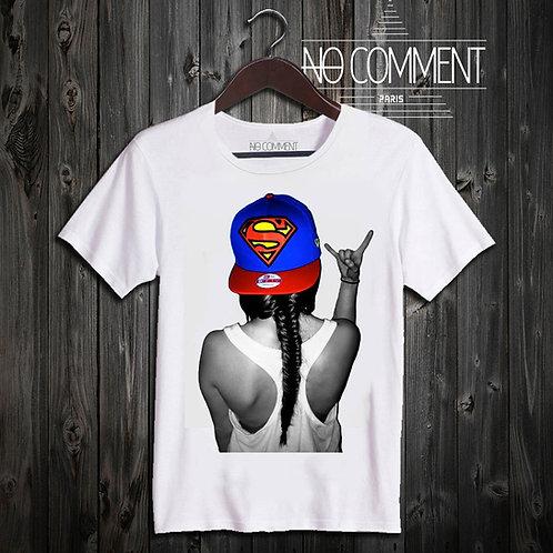 t shirt superman cap ref: HIP09
