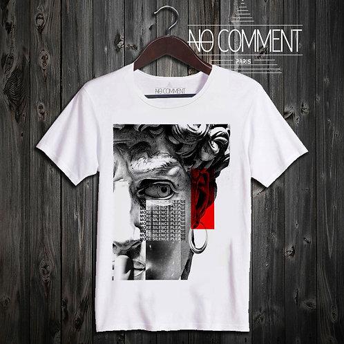 t shirt David statue silence ref: NCP53