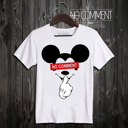 t shirt mickey no comment ref: CART01