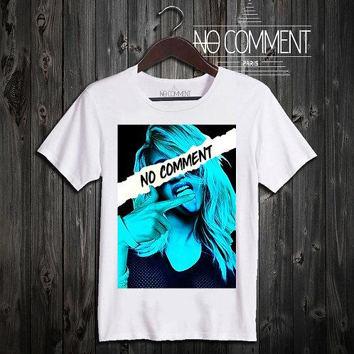t shirt blue vision ref: NCP70