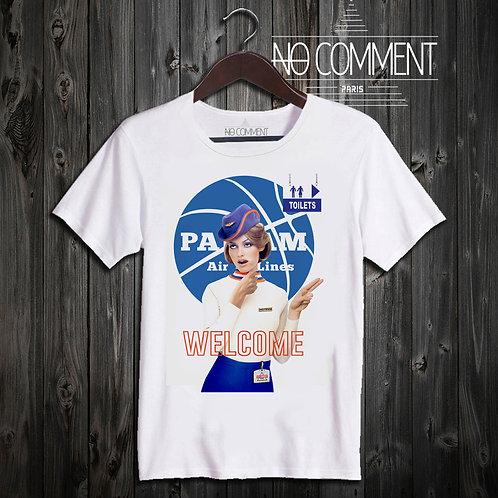 t shirt welcom ref: NCP03