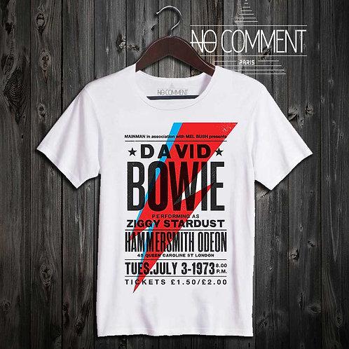 tee shirt concert Bowie LEG16