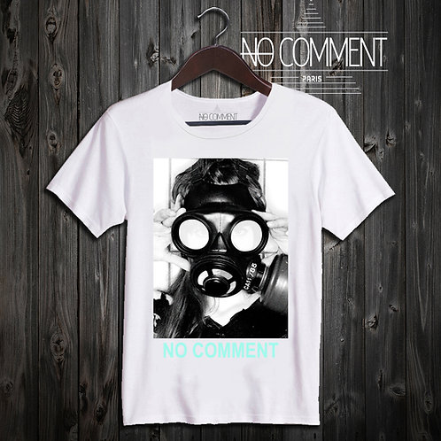 t shirt gaz mask ref: NCLTN140