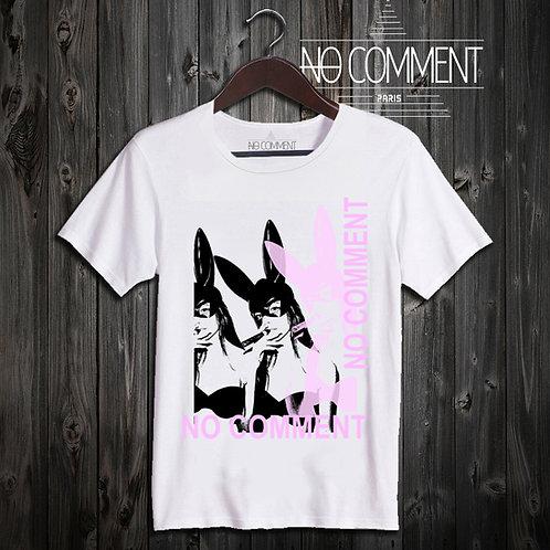 t shirt bunny pink ref: NCLTN139