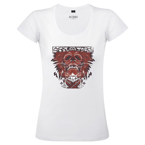 T Shirt imprimé SKULL GRAPHIC réf:TFUND08
