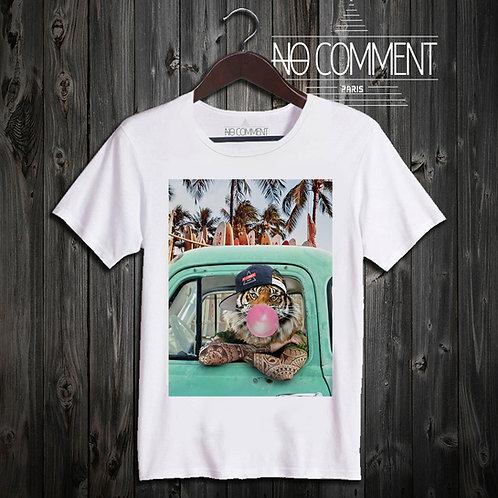 t shirt surf tiger ref: NCP33