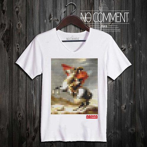 T-shirt Geek, Napoléon LEGO réf: BRICK36