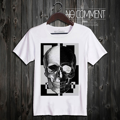t shirt skull graphic ref: UND001