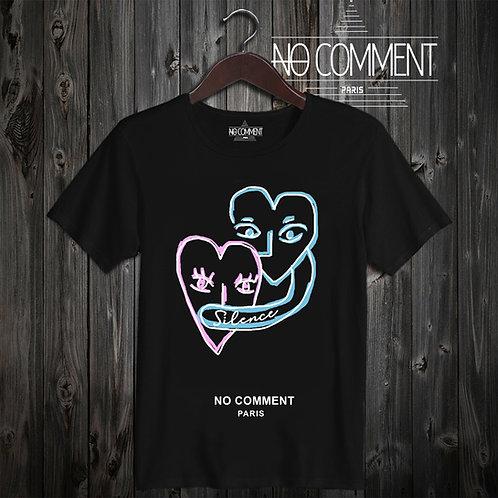 t shirt  heart design ref: NCP320