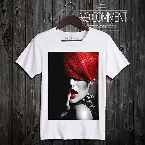 t shirt red hair ref: LTN09