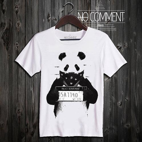 T SHIRT Panda wanted NEW16