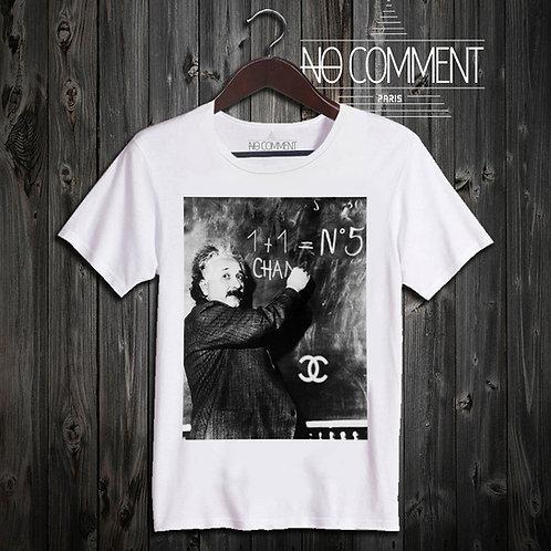 t shirt Einstein lesson ref: TEND01B