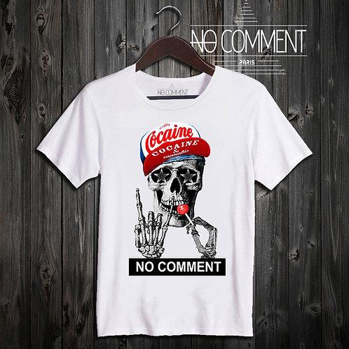 T Shirt Skull lollipop ref: NCP85