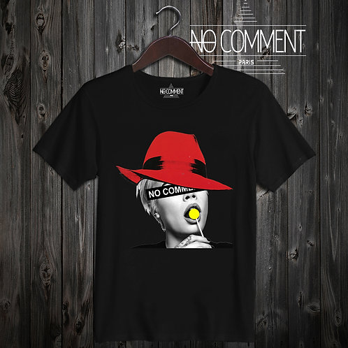 t shirt red hat ref: NCLTN130