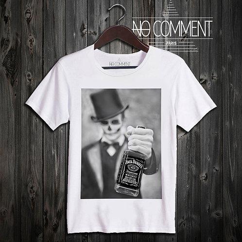 t shirt jack skull ref: UND11