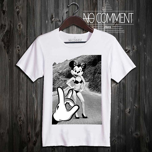 T Shirt Mickey and Minie CART17