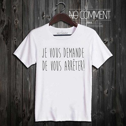 t-shirt-je vous demande... SOFT01