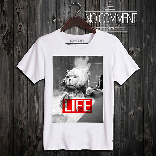 t shirt Ted life ref: NCP67