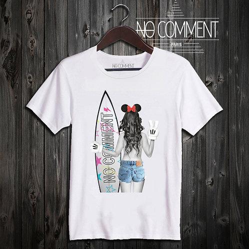 t shirt surf girl ref: NCLTN117