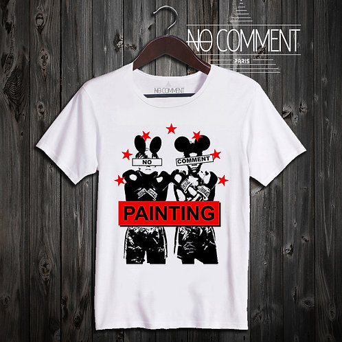 t shirt red boxing ref: NCLTN149