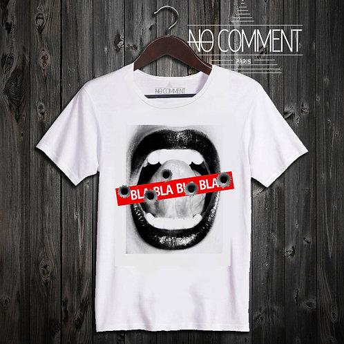 t shirt bla bla bla ref: NCP19