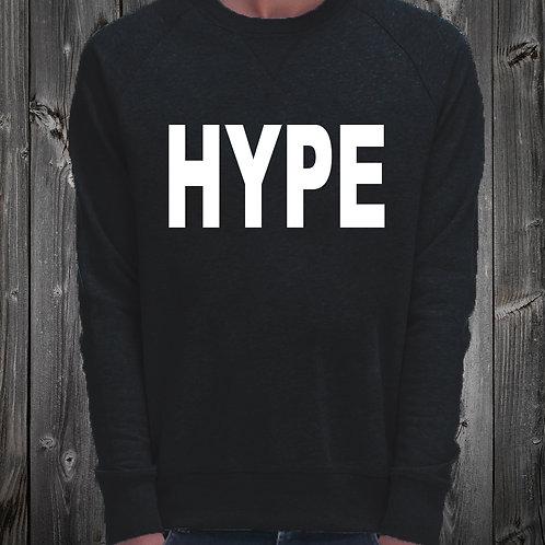 Sweat Shirt noir imprimé HYPE réf: SW17