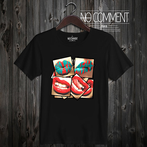 t shirt lips compil ref: NCP305
