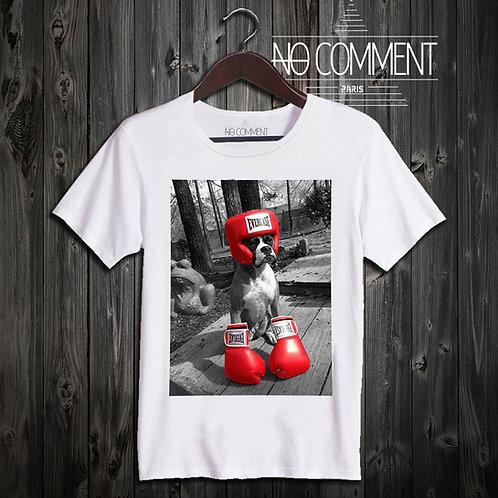 t shirt boxing dog ref: NEW26
