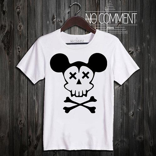 t shirt Mickey skull ref: NEW85