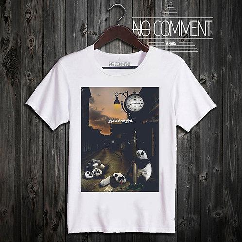 t shirt panda kiss ref: NCP35