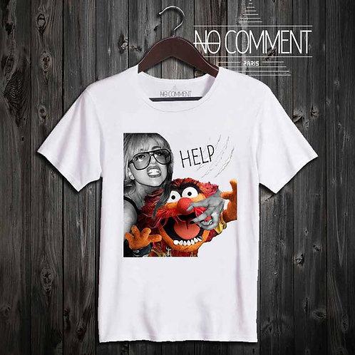 T Shirt swag help monster CART12
