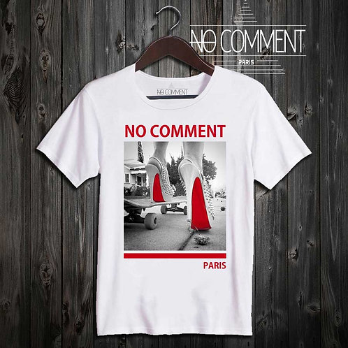 T shirt red shoes sole NCLTN127