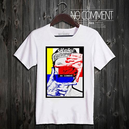 T shirt silence design NCP28
