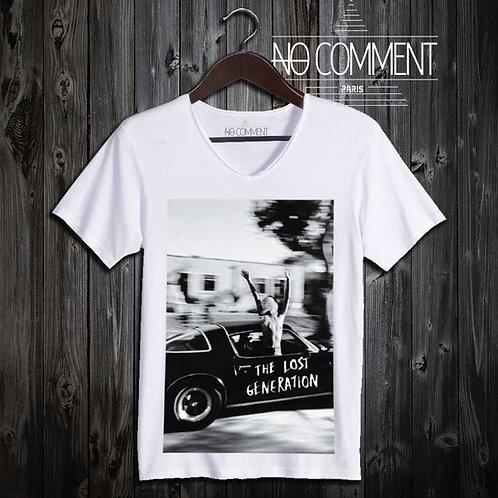 Tee shirt rock the lost génération ROCK05