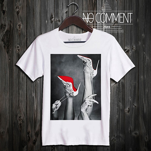 t shirt love louboutin ref: NEW58