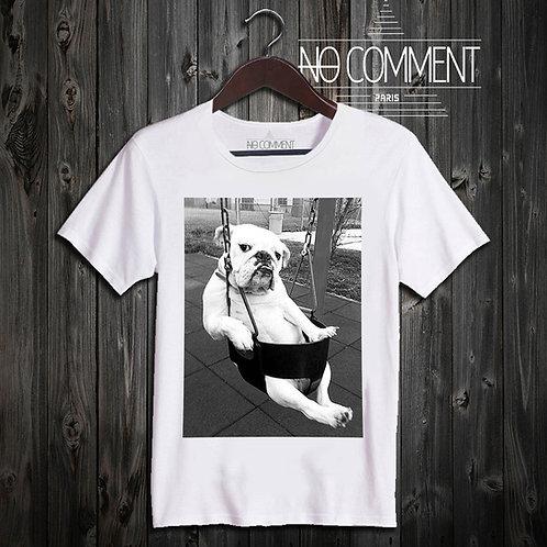 t shirt Chill dog ref: FUN21