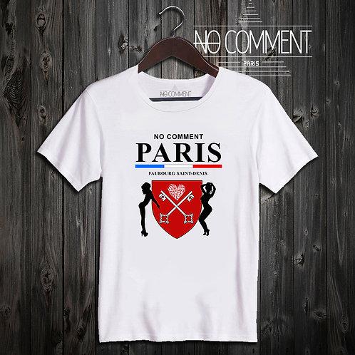 t shirt faubourg saint denis ref: NCP303