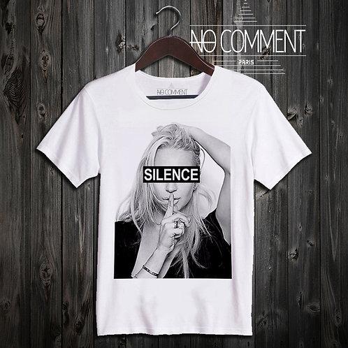 t shirt silence ref: LTN17