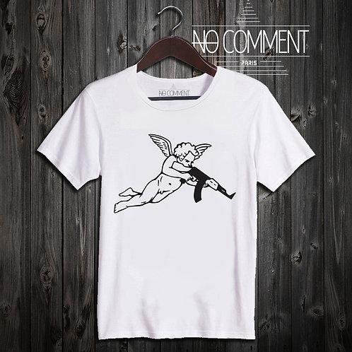 t shirt angel gun ref: SOFT06