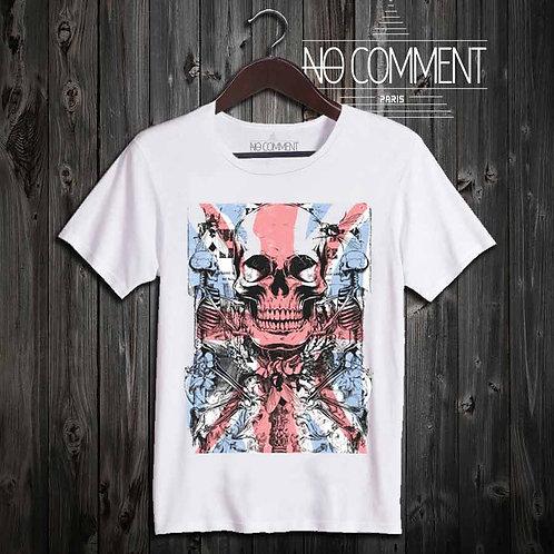 t-shirt underground, london skull UND05